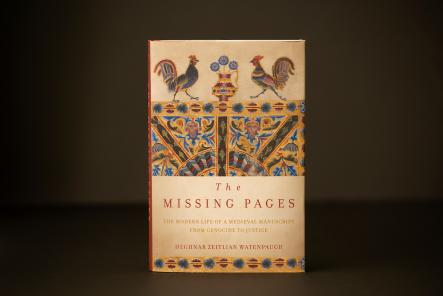 "The ""Missing Pages"" is available from Stanford University Press. (UC Davis Photo)."