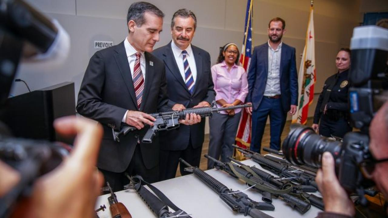 Los Angeles gun buyback event